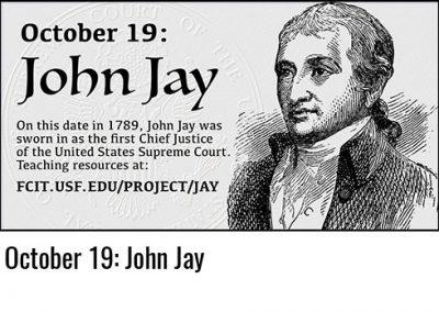October 19: John Jay