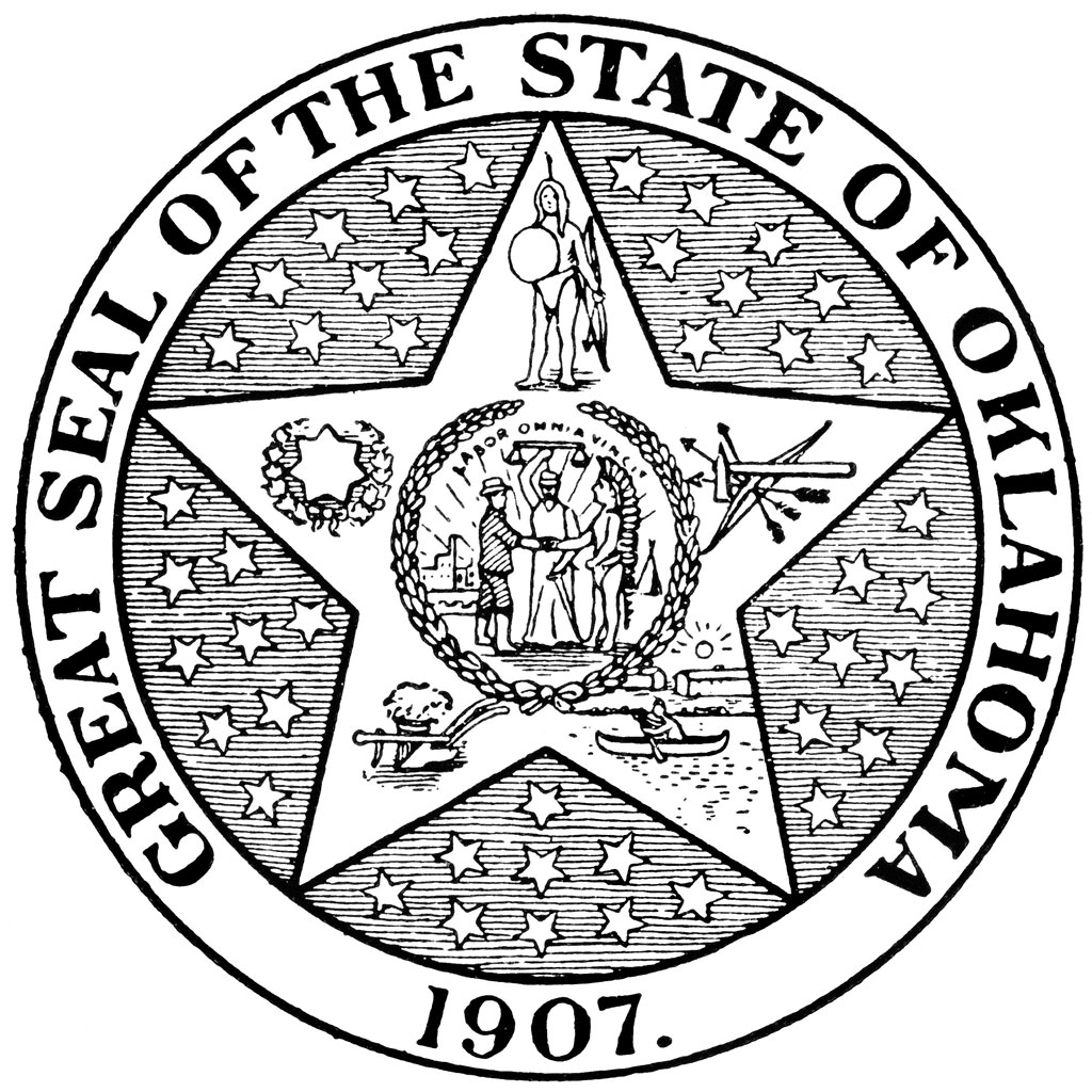 November 16 oklahoma fcit for United states seal coloring page