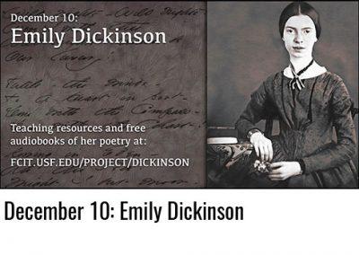 December 10: Emily Dickinson