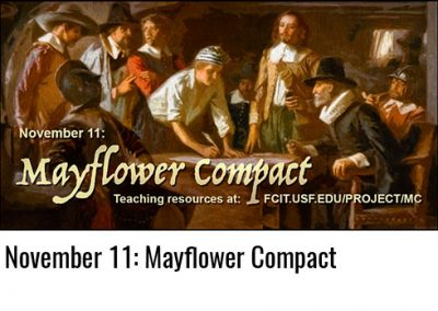 November 11: Mayflower Compact