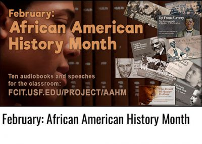 February: African American History Month