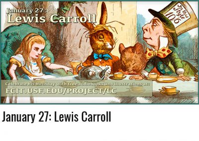 January 27: Lewis Carroll