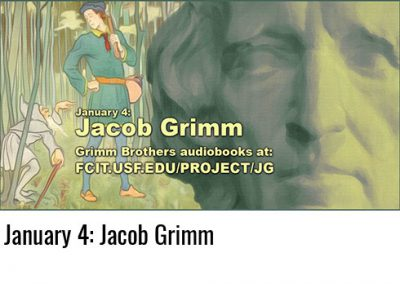 January 4: Jacob Grimm