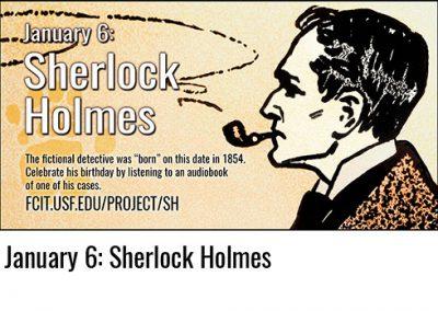 January 6: Sherlock Holmes