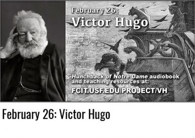 February 26: Victor Hugo