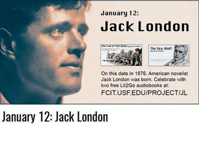 January 12: Jack London