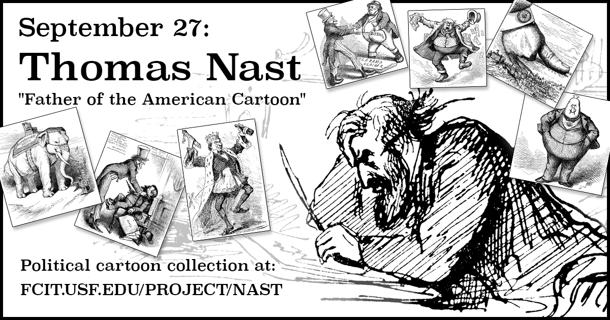 September 27 Thomas Nast Fcit