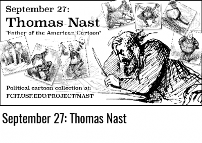 September 27: Thomas Nast
