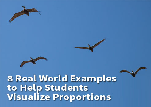 8 Real World Examples to Help Students Visualize Proportions  from FCIT Resources