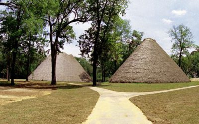 Photo of the Month: Council House at Mission San Luis de Apalachee
